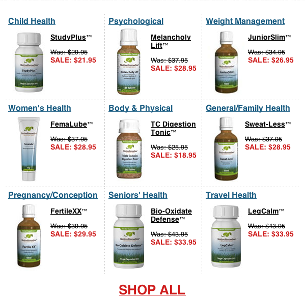 Winter Sale – Buy Natural Muscle Relaxers and Natural Remedies 2